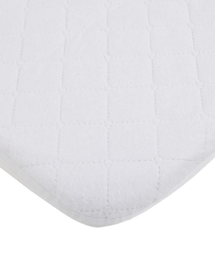 Carter's - Water Resistant Quilted Mini Crib Fitted Mattress Pad