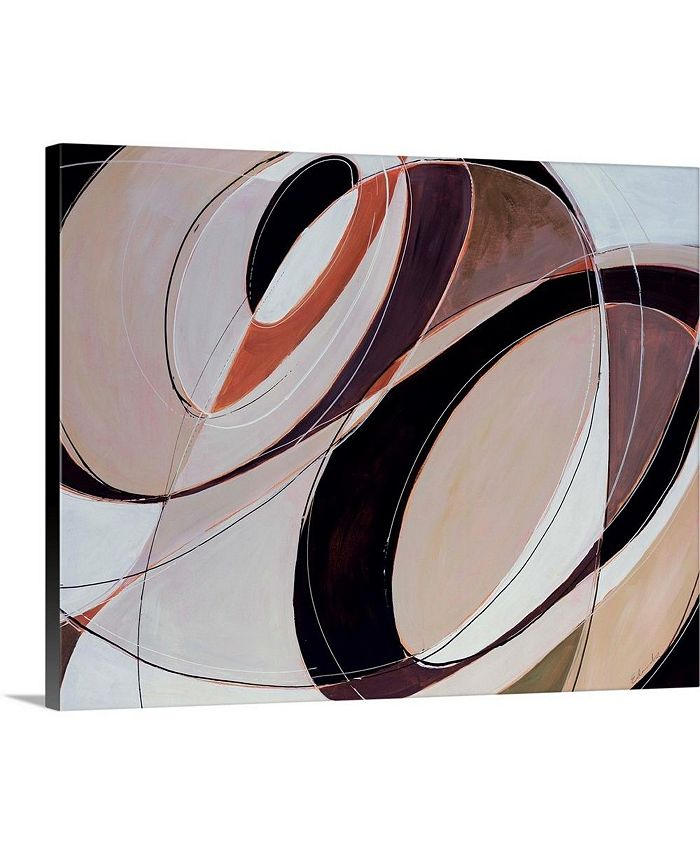 "GreatBigCanvas - 20 in. x 16 in. ""Modern Times"" by  Sydney Edmunds Canvas Wall Art"