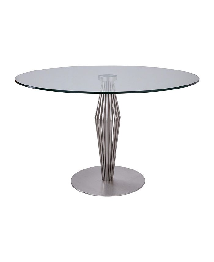 Armen Living - Lindsey Glass Dining Table