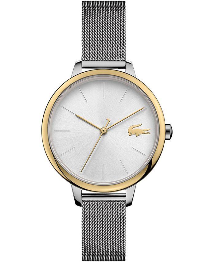 Lacoste - Women's Cannes Stainless Steel Mesh Bracelet Watch 34mm