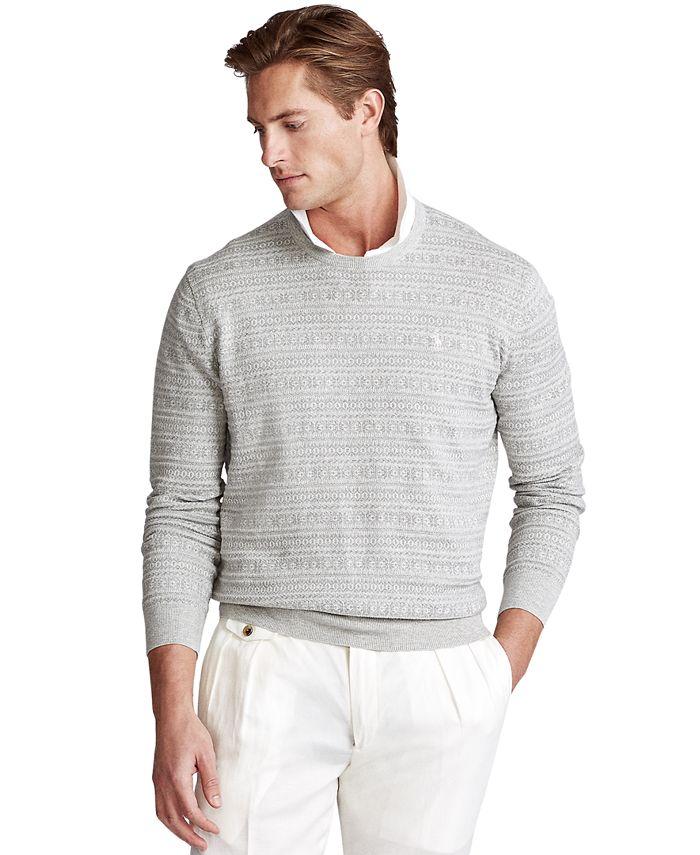 Polo Ralph Lauren - Men's Fair Isle Cotton Sweater