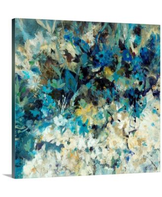 "24 in. x 24 in. ""Pompeii Floral"" by  Jodi Maas Canvas Wall Art"