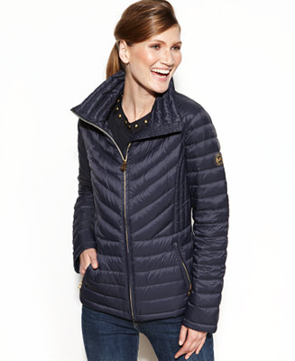 Michael Michael Kors Packable Quilted Puffer Coat Coats