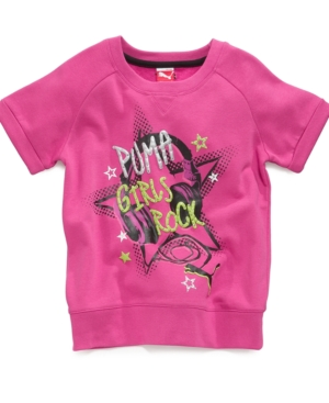 Puma Kids Shirt Girls Graphic Sweatshirt