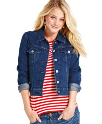 Denim Jackets Outerwear. Clothing. Women. Womens Coats & Jackets. Cover Girl Jeans Denim Jacket for Women Distressed Long Sleeve Size Small Denim Blue. Product Image. Price $ Women's Long Sleeve Tops with Two Pockets Outerwear Coats for Juniors, Black / Deep Gray / Pink Warm Hoodies Blouses Jackets for Women, M-3XL. Product.