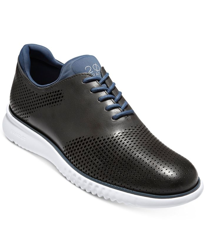 Cole Haan - Men's 2.ZERØGRAND Laser Saddle Oxfords