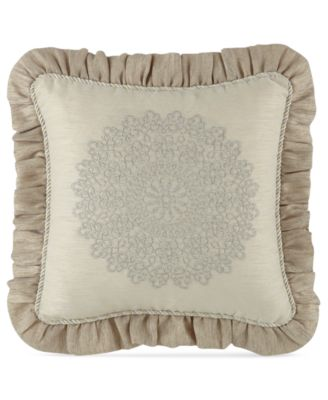 """Waterford Lysander 14"""" Square Decorative Pillow"""