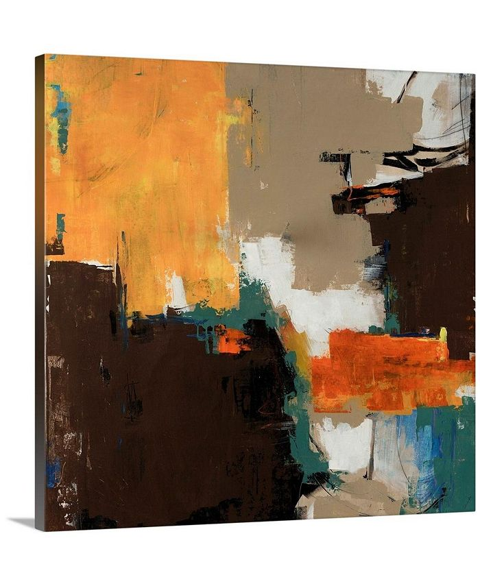 """GreatBigCanvas - 36 in. x 36 in. """"Peanut Butter Cup"""" by  Sydney Edmunds Canvas Wall Art"""