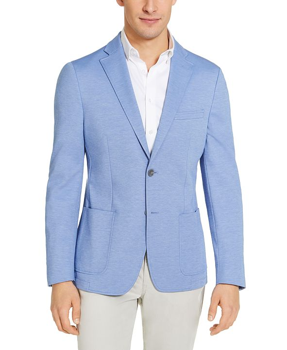 Calvin Klein Men's Slim-Fit Knit Sport Coat