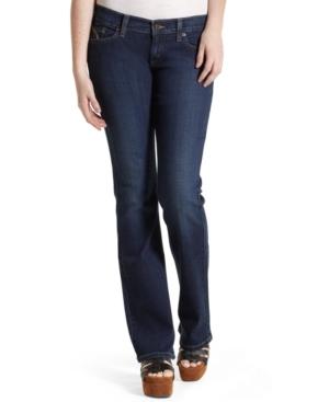 Levi's Juniors 524 Superlow Bootcut Jeans, Dark Wash
