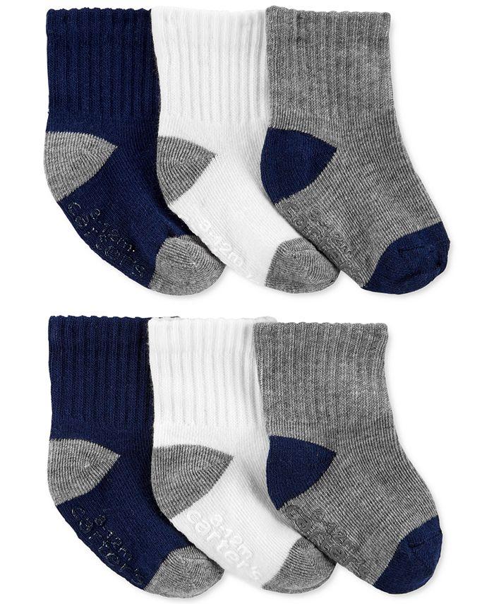 Carter's - Toddler Boys 6-Pk. Crew Socks