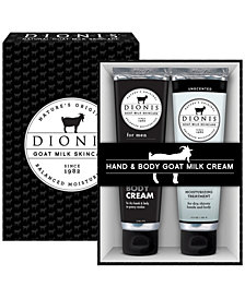 Dionis Men's Hand and Body Goat Milk Set of 2