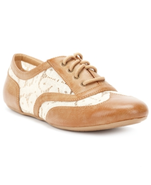XOXO Lawrence Oxford Flats Women's Shoes
