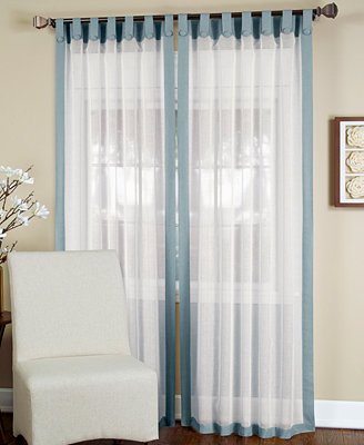 Window Treatment Collection Sheer Curtains Home Macy