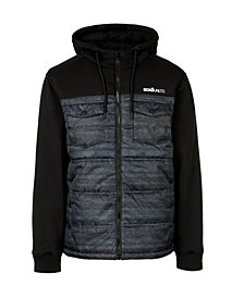 Ecko Unltd Men's Flyguy Hybrid Jacket