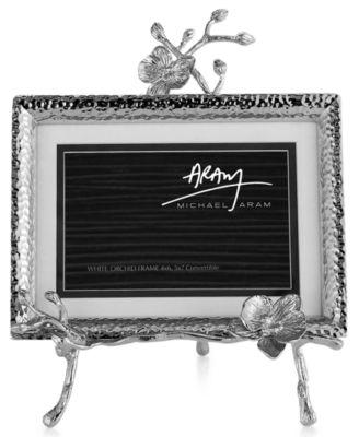 Michael Aram White Orchid Easel Frame