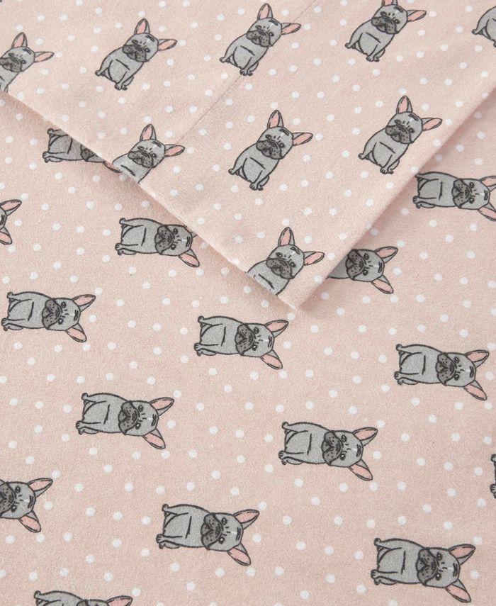 Sleep Philosophy - Cozy Flannel Twin XL Cotton Flannel Printed Sheet Set