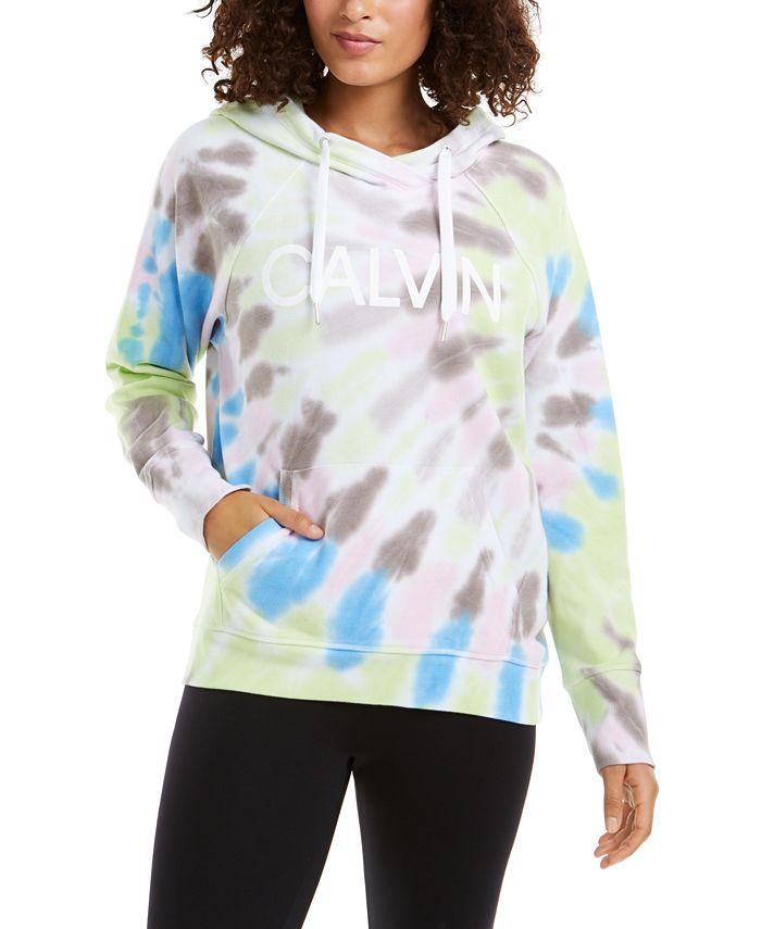 Calvin Klein - Logo Tie-Dyed Hoodie