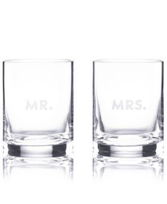 kate spade new york Set of 2 Darling Point Double Old-Fashioned Glasses