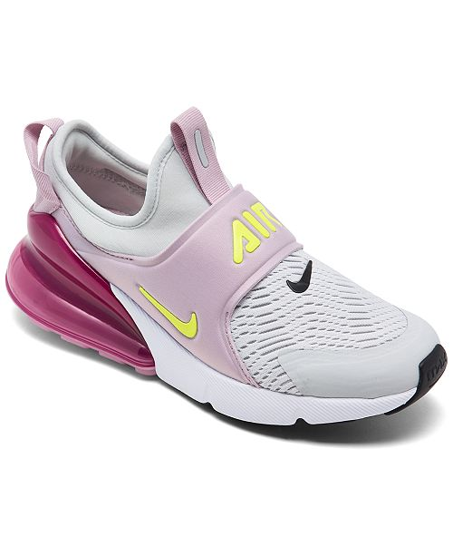 Sandalias gritar Roux  Nike Big Kids' Air Max 270 Extreme Slip-On Casual Sneakers from Finish Line  & Reviews - Finish Line Athletic Shoes - Kids - Macy's