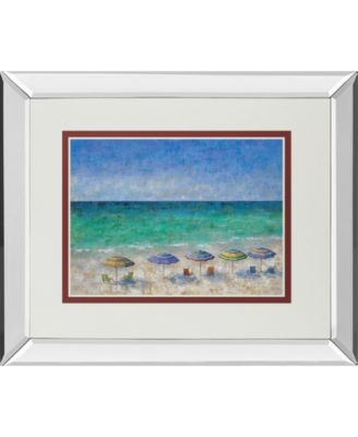 South Shore II by Dominick Mirror Framed Print Wall Art, 34