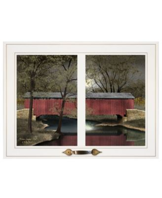 Warm Summer's Eve by Billy Jacobs, Ready to hang Framed Print, Black Frame, 19