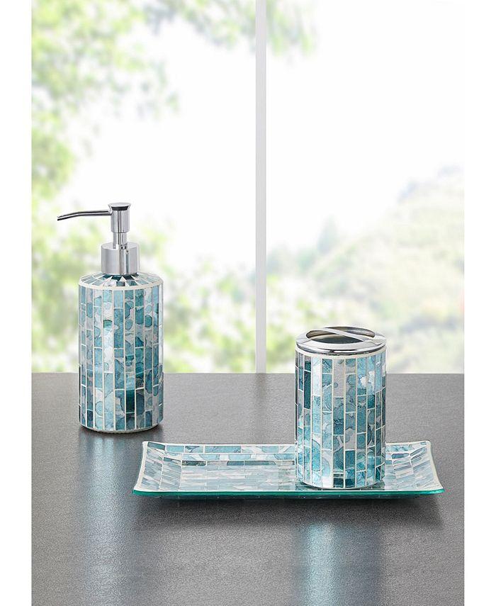 Jla Home Robin Mosaic 3pc Bath Accessory Set Reviews Bathroom Accessories Bed Macy S