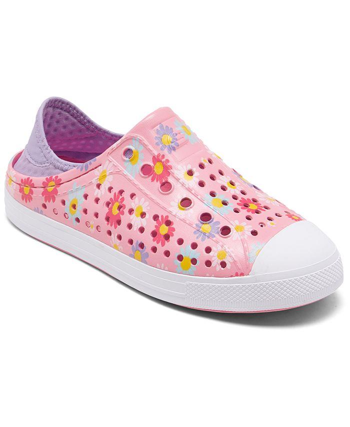 Skechers - Little Girls Cali Gear Guzman Steps Hello Daisy Water Sneakers from Finish Line
