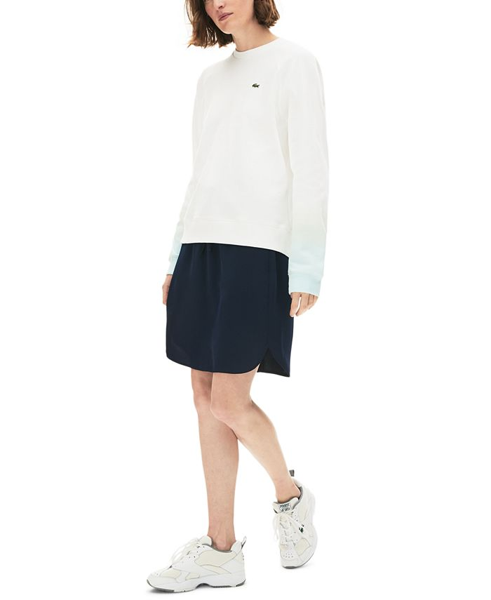 Lacoste - Ombre-Sleeve Sweater