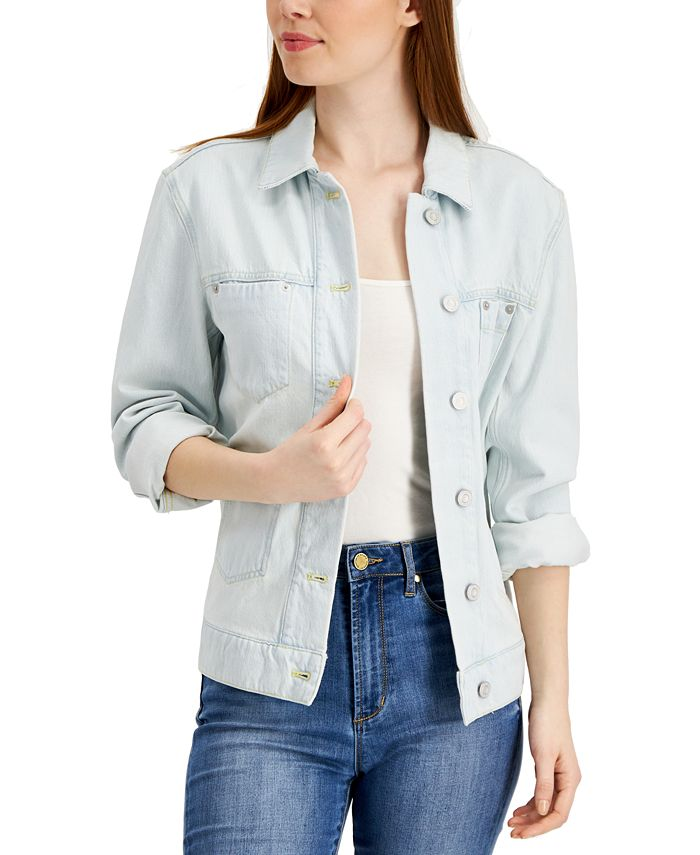 French Connection - Theema Cotton Denim Jacket