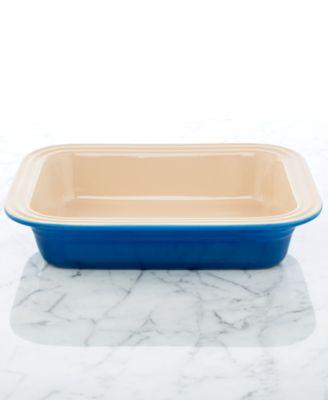 "Le Creuset Stoneware 8.5"" x 10.75"" Deep Dish Baking Dish"