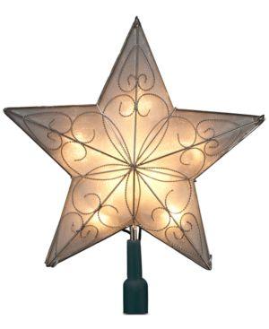 Kurt Adler 5-Point Star Christmas Tree Topper