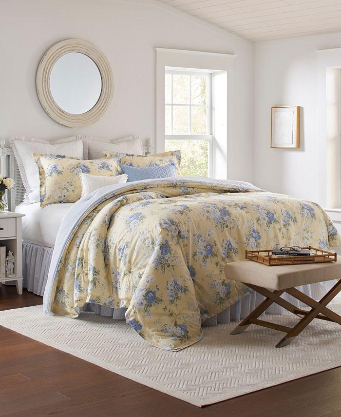 Laura Ashley - Maybelle Queen Comforter Set