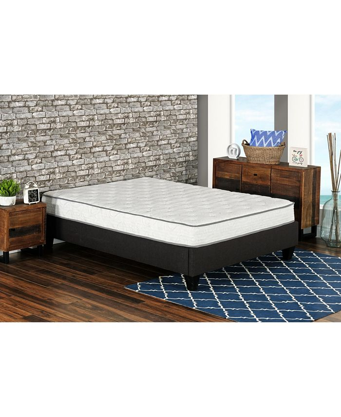 """Primo International - Primo Berri 8"""" Pocket Coil with Lumber Gel Firm Mattress - Twin"""