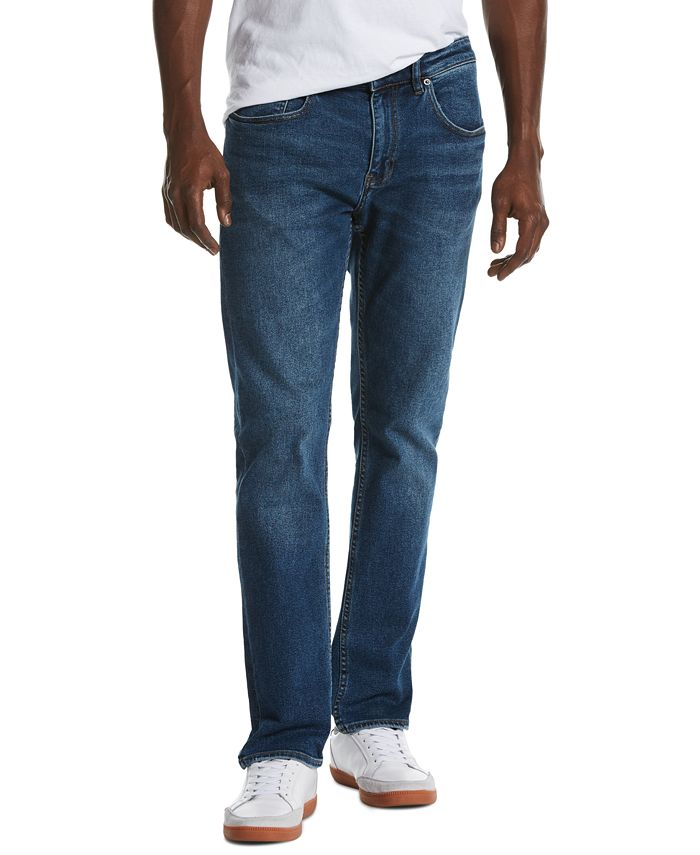 Original Penguin - Men's Spoiler Slim-Fit Stretch Jeans
