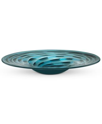 CLOSEOUT! Lenox Gifts, Seaview Swirl Centerpiece Bowl 18""