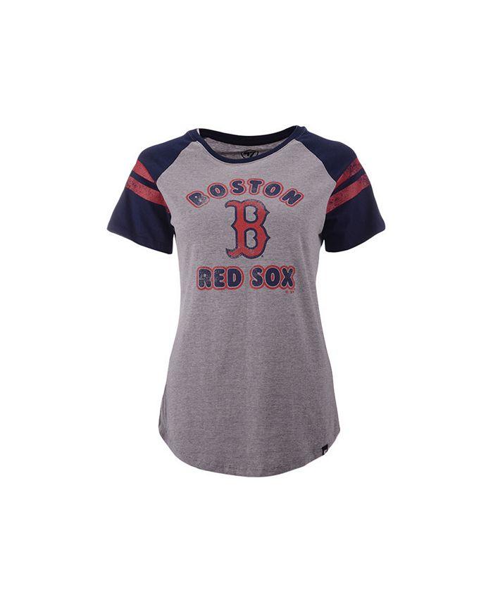 '47 Brand - Boston Red Sox Women's Fly Out Raglan T-shirt