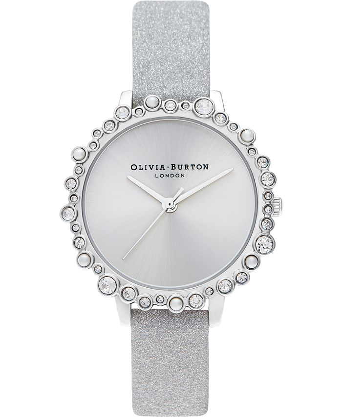 Olivia Burton - Women's Under The Sea Stainless Steel Mesh Bracelet Watch 34mm