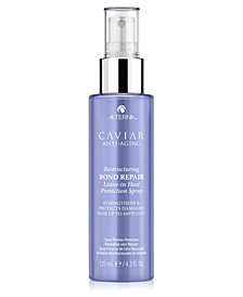 Alterna Caviar Anti-Aging Restructuring Bond Repair Leave-In Heat Protection Spray, 4.2-oz.