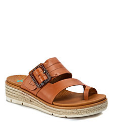 Baretraps Baize Posture Plus+ Espadrille Wedge Slide Sandals