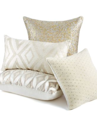 Martha Stewart Collection Bedding Shimmer Decorative