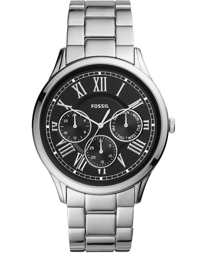Fossil - Men's Pierce Stainless Steel Bracelet Watch 44mm