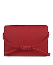 Esin Akan Midi Chelsea Leather Clutch Bag