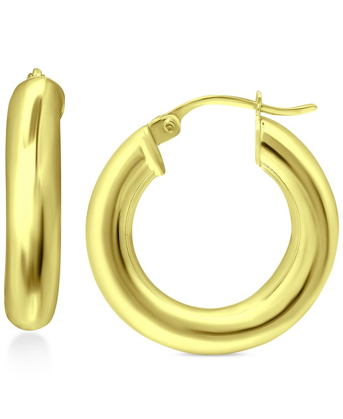 Giani Bernini - Small Polished Hoop Earrings, 1""