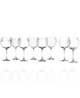 Mikasa Glassware, Buy 6 Get 8 Mixed Cheers Balloon Glasses