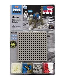 Plus-Plus - Moon Baseplate Builder Building Set
