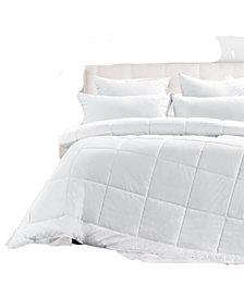 UNIKOME Year Round Down Alternative Comforter, Twin Size