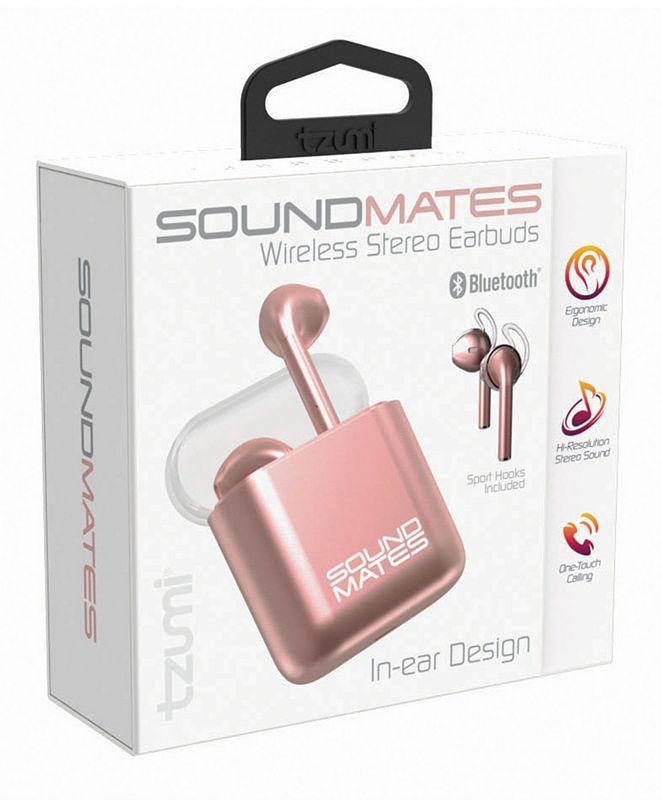 Tzumi Electronics Soundmates 5.0 Box Packaging with Flap