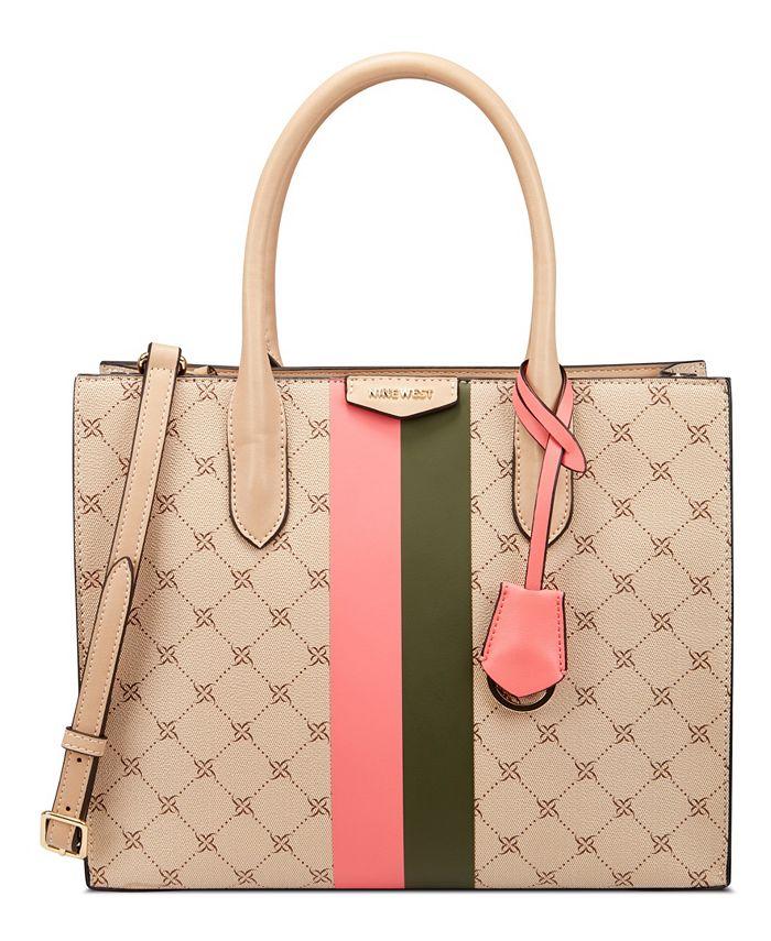 Nine West Luella Jet Set Shopper Reviews Handbags Accessories Macy S