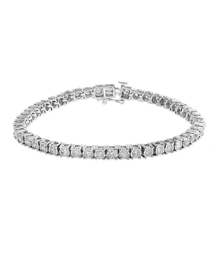 EFFY Collection EFFY® Diamond Tennis Bracelet (2-7/8 ct. t.w.) in 14k White Gold & Reviews - Bracelets - Jewelry & Watches - Macy's